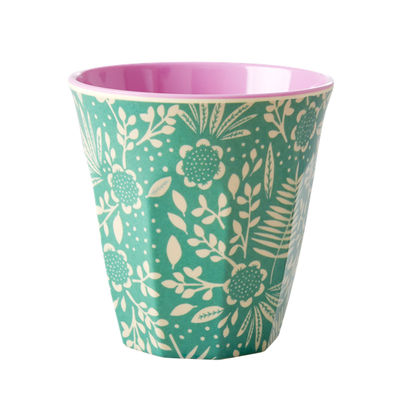 Rice Becher 0,2l / Fern and Flower Print