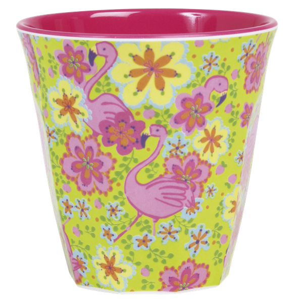 Rice Becher 0,2l / Flamingo Print