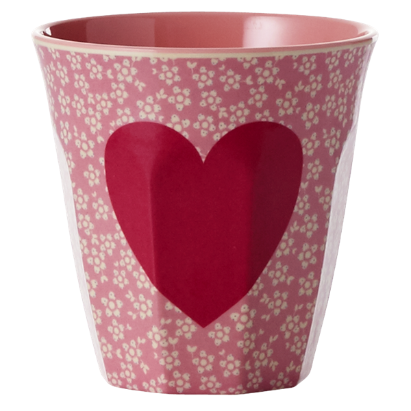 Rice Becher 0,2l / Heart Print